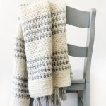 Free Crochet Pattern Striped Throw