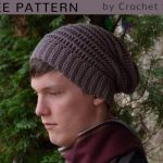 Free Crochet Pattern Walley Slouch Beanie