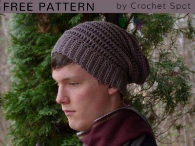 Free Crochet Pattern Walley Slouch Beanie