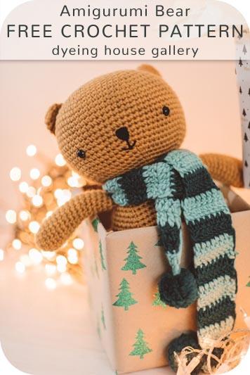 Free Crochet Pattern Amigurumi Bear