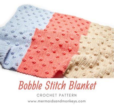 Free Crochet Pattern Bobble Stitch Blanket