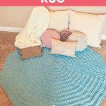 Free Crochet Pattern Boho Rug
