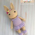 Free Crochet Pattern Bunny Girl