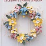 Free Crochet Pattern Celebrite Spring Wreath