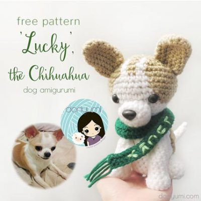 Free Crochet Pattern Chihuahua Dog