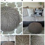 Free Crochet Pattern Floor Pouf