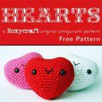 Free Crochet Pattern Heart Amigurumi