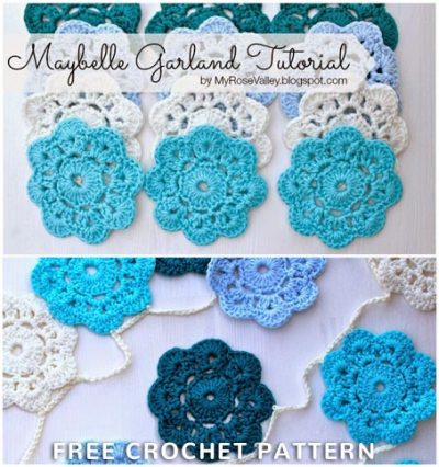Free Crochet Pattern Maybelle Garland