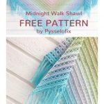 Free Crochet Pattern Midnight Walk Shawl