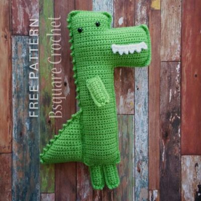 Free Crochet Pattern Mighty Alligator