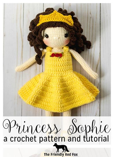 Free Crochet Pattern Princess Sophie