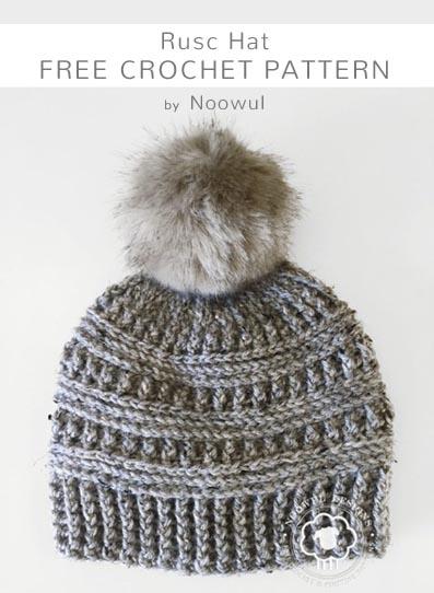 Free Crochet Pattern Rusc Hat