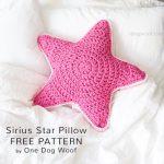Free Crochet Pattern Sirius Star Pillow