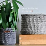 Free Crochet Pattern Alex Basket