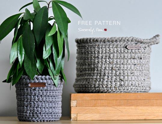Free Crochet Pattern Alex Basket