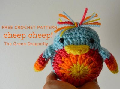 Free Crochet Pattern Cheep Cheep Chick