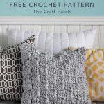 Free Crochet Pattern Chunky Pillow