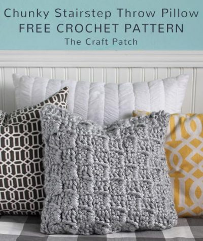 Free Crochet Pattern Chunky Pillow