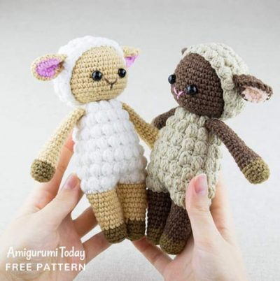 Free Crochet Pattern Cuddle me Sheep