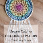 Free Crochet Pattern Dream Catcher