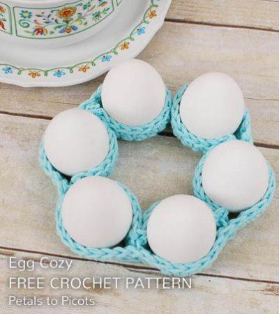 Free Crochet Pattern Egg Cozy