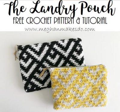 Free Crochet Pattern Landry Pouch