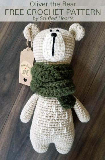 Free Crochet Pattern Oliver the Bear