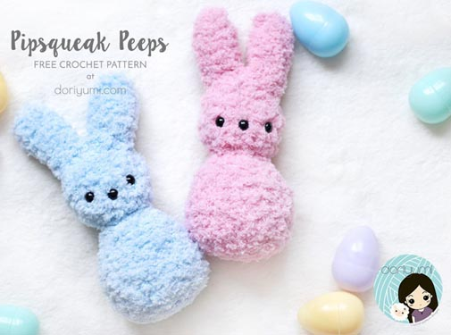 Free Crochet Pattern Pipsqueak Peeps