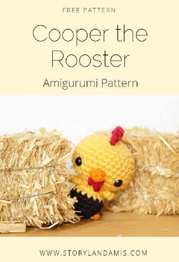 Free Crochet Pattern Rooster Farm Animal