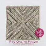 Free Crochet Pattern As Time Goes By Square