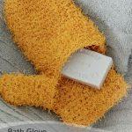 Free Crochet Pattern Bath Glove
