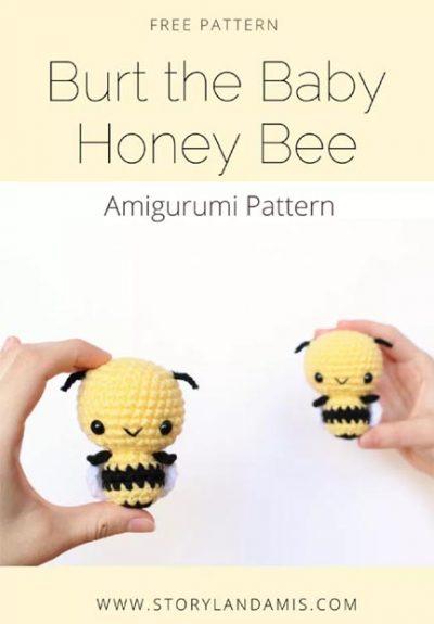Free Crochet Pattern Burt the Honey Bee