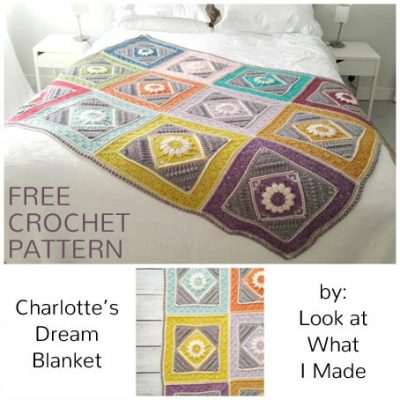 Free Crochet Pattern Charlotte's Dream Blanket