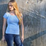 Free Crochet Pattern Dahlia Top