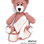 Free Crochet Pattern Ella the Teddy Bear