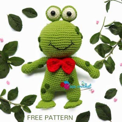Free Crochet Pattern Frog