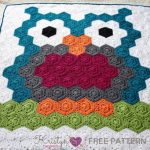 Free Crochet Pattern Hexagon Owl Blanket