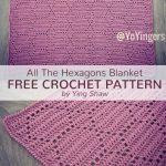 Free Crochet Pattern Hexagons Blanket