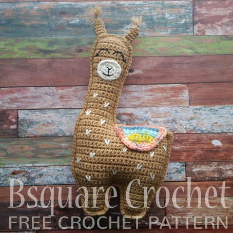 Free Crochet Pattern Llama Pillow Friend