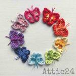Free Crochet Pattern Meadow Butterfly