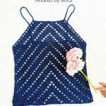 Free Crochet Pattern Peaks Tank Top