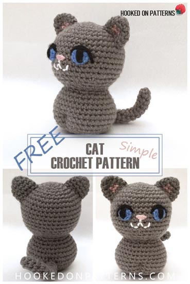 Free Crochet Pattern Simple Cat Amigurumi