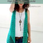 Free Crochet Pattern Summer Vest