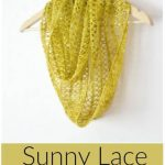 Free Crochet Pattern Sunny Lace Cowl