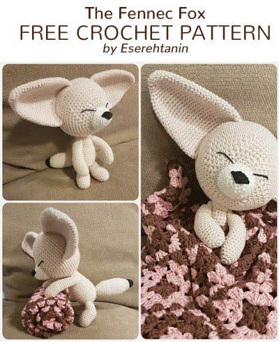 Free Crochet Pattern The Fennec Fox