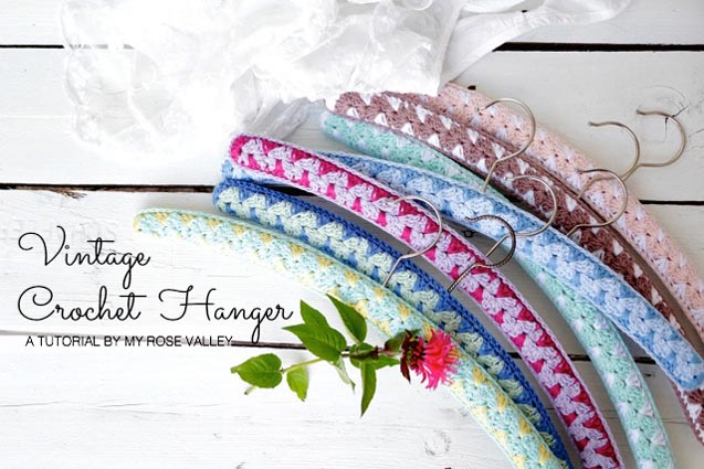 Free Crochet Pattern Vintage Hanger