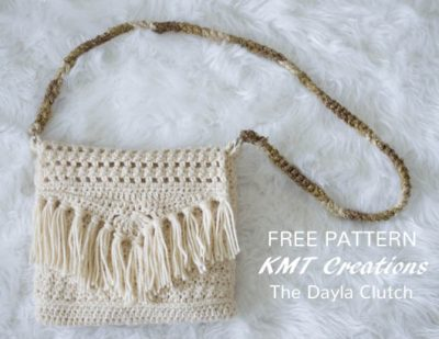 Free Crochet Pattern the Dayla Clutch