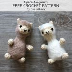 Free Crochet Pattern Alpaca Amigurumi