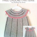 Free Crochet Pattern Baby Delight Dress
