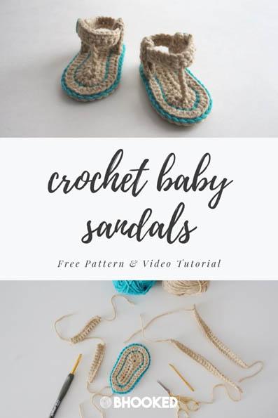 Free Crochet Pattern Baby Sandals